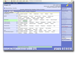 Screenshot Meditech Client Server